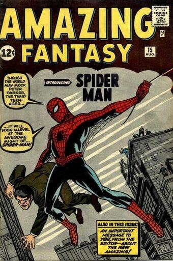 Amazing Fantasy Vol 1 15   Marvel Database   Fandom