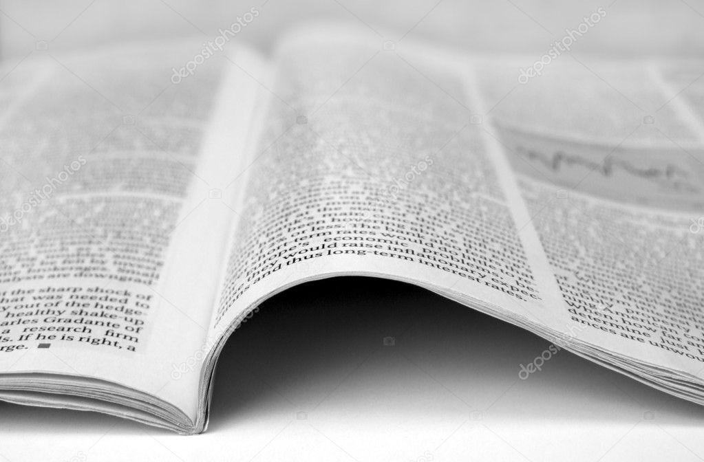 New paper article ⬇ Stock Photo, Image by © janaka #3729494