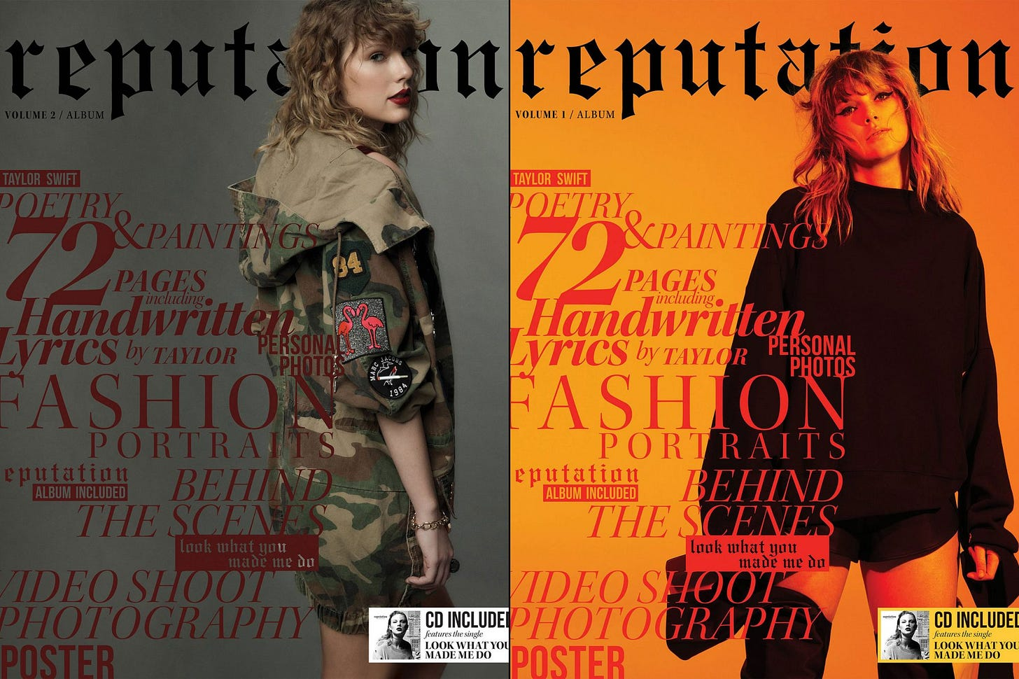 Taylor Swift's 'reputation' magazines: What you'll find in ...