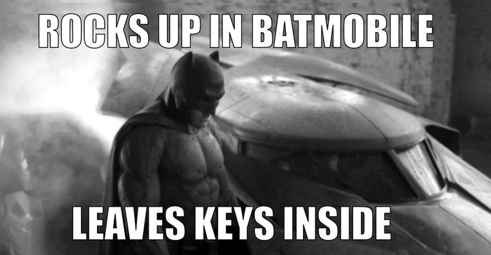 Forgot the Keys | Sad Batman | Know Your Meme