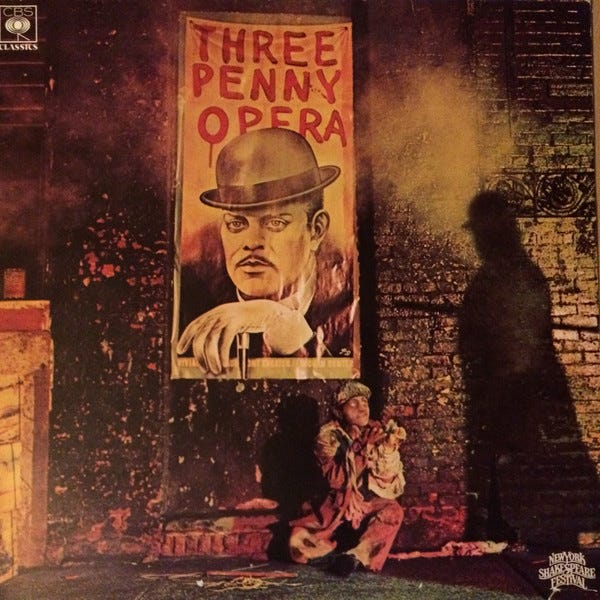 Image result for original threepenny opera poster