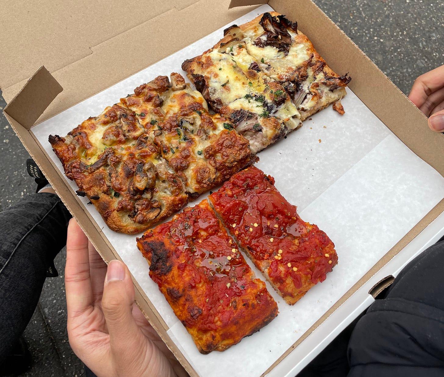 Impasto pizza al taglio