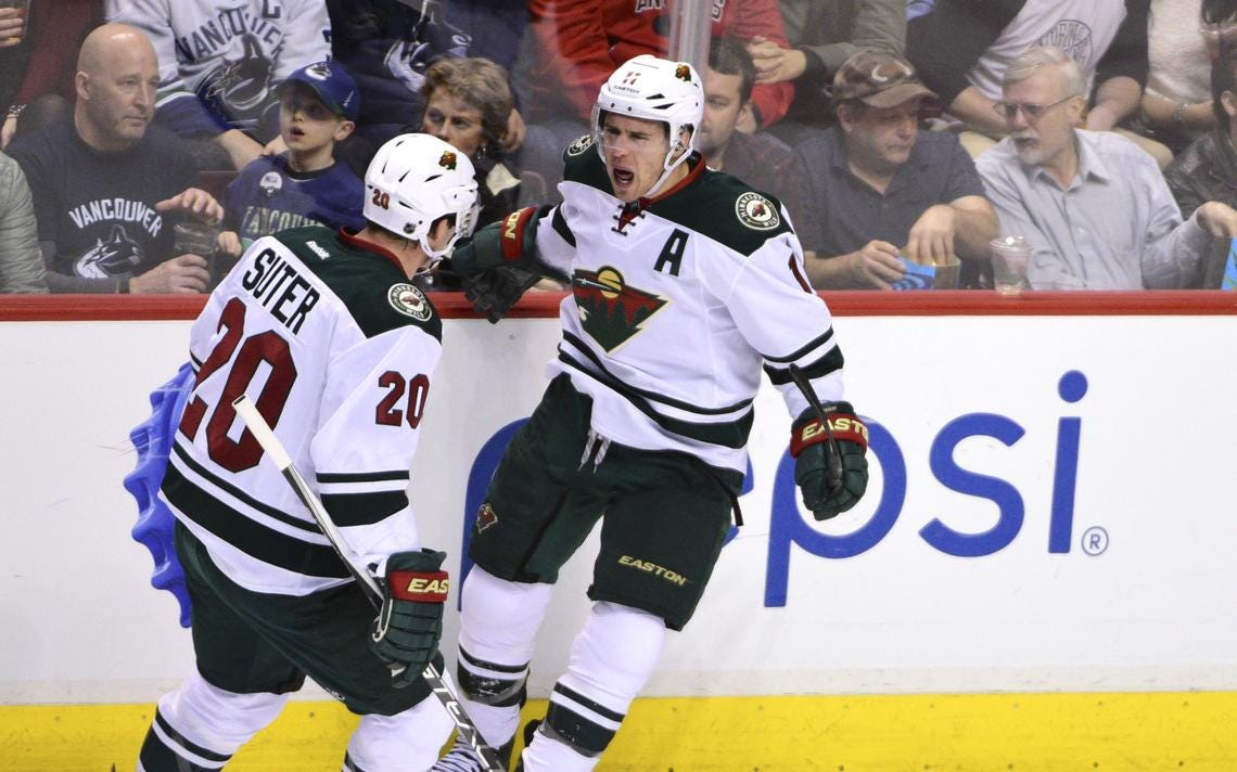 Jess Myers: Parise/Suter era will be remembered for fun winter nights at  the rink, lack of parades in St. Paul | Grand Forks Herald