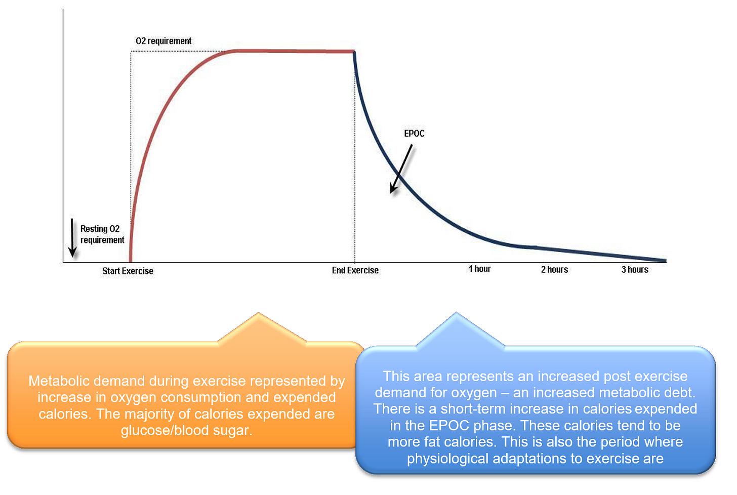 Excess Post Exercise Oxygen Consumption – EPOC