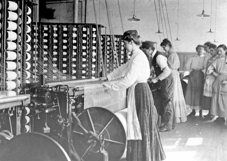 Industrial Revolution Textile Mills