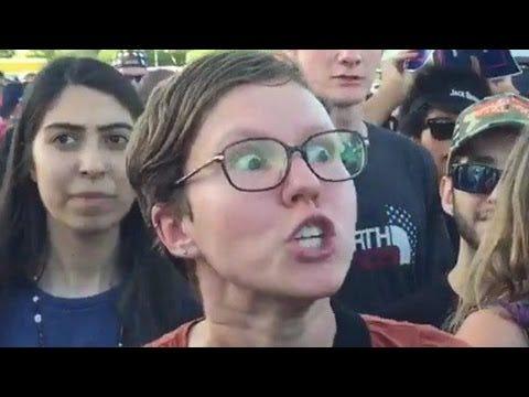 SJW MELTDOWNS] Reaction To Donald Trump Victory (6) - YouTube