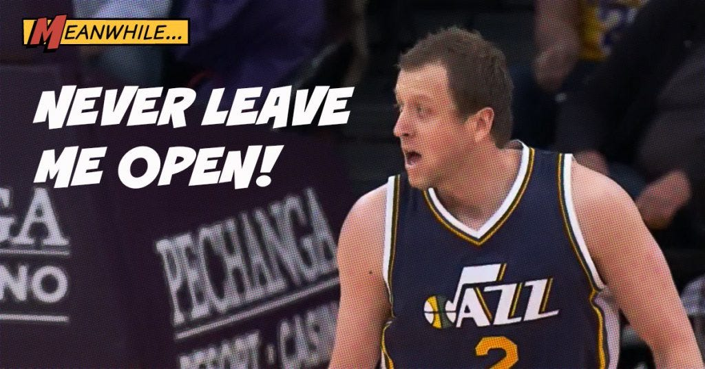 Ingles after making the 3 pointer