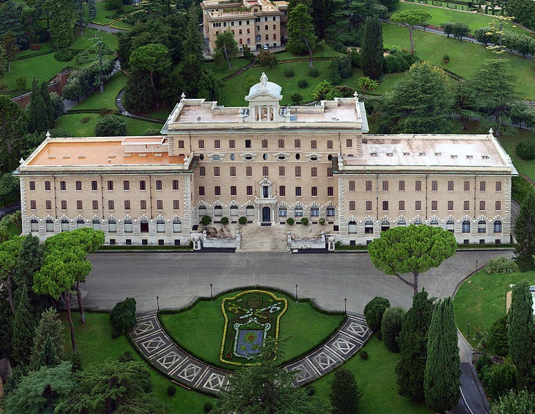 File:Palace of the Governorate. Vatican City State..jpg