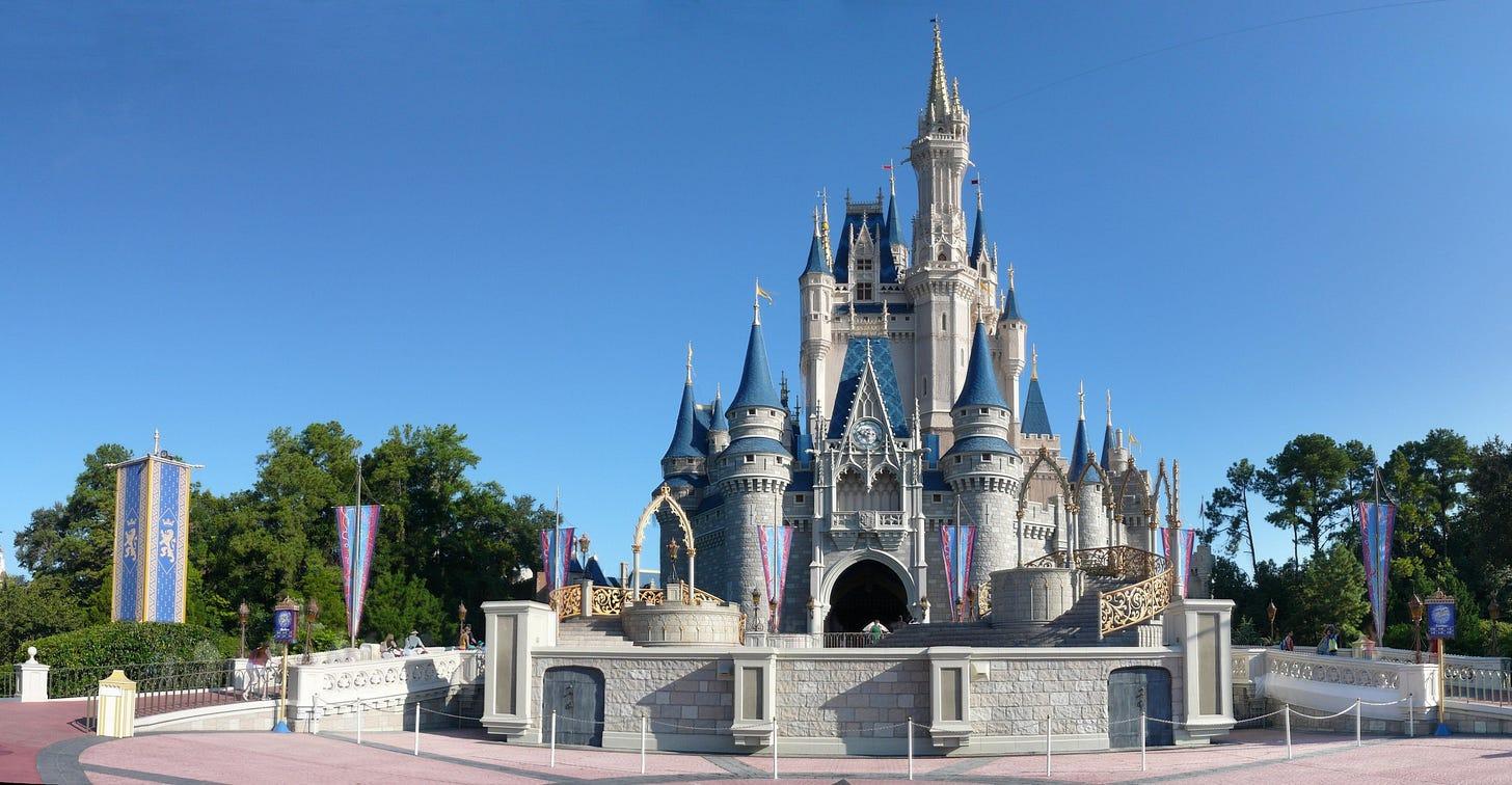 Magic Kingdom - Cinderella Castle panorama - by mrkathika.jpg