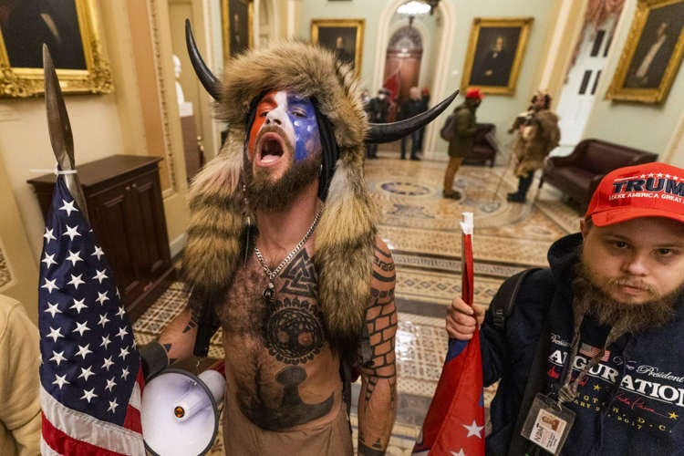 Bison man from Capitol riot changes jails to get a 'shaman' diet