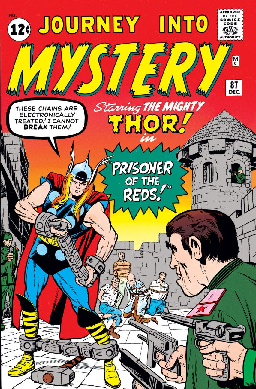 Journey Into Mystery (1952) #87 | Comic Issues | Marvel