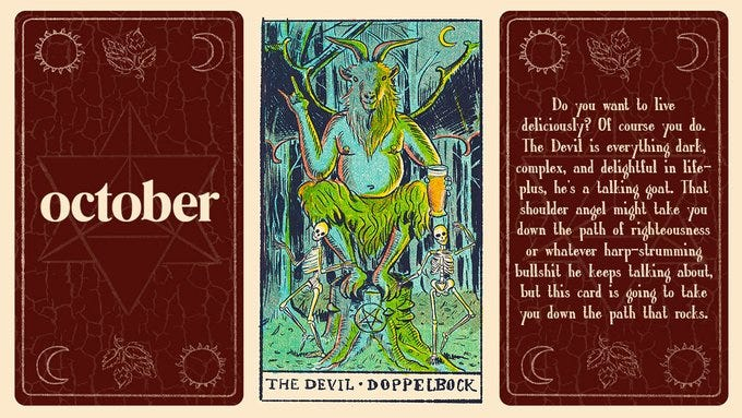 Oct.co's Tarot of Beer