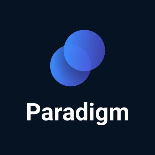 Paradigm (@tradeparadigm) | Twitter