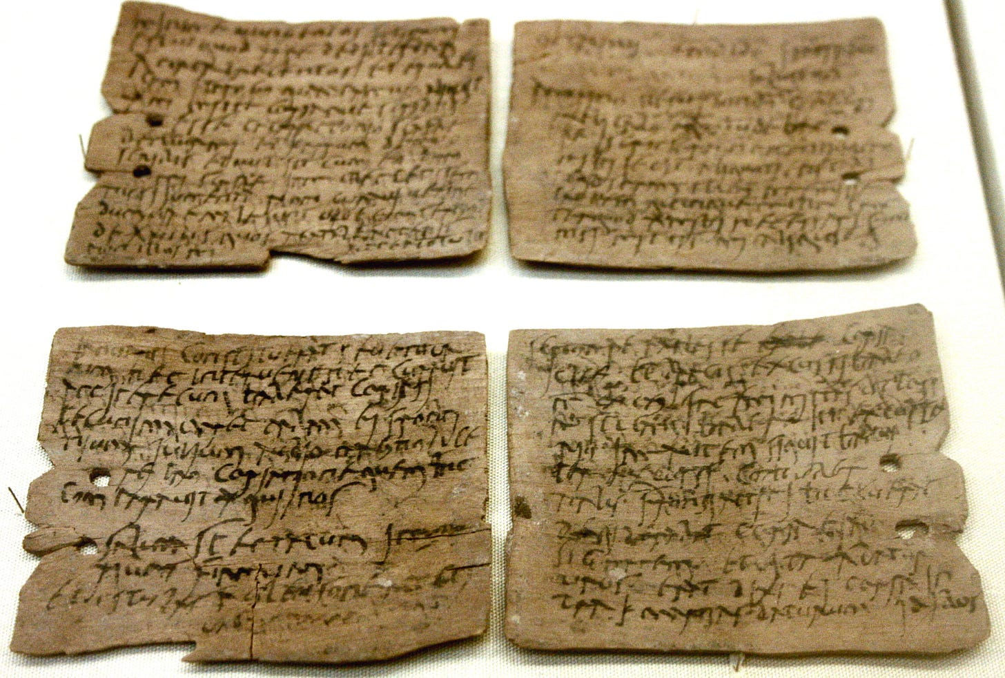 Vindolanda tablets - Wikipedia