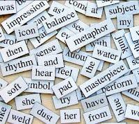 Jumble of words