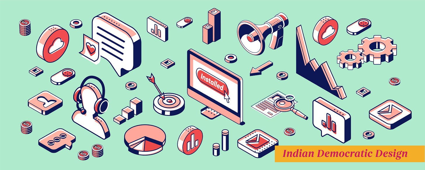 The mantra for user engagement - Indian Democratic Design