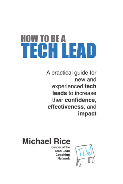 How To Be A Tech Lead