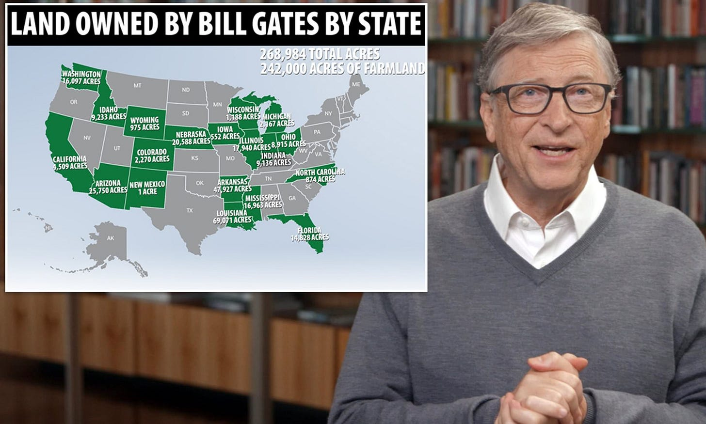 Bill Gates is now the biggest owner of FARMLAND in the US after buying up  242,000 acres | Daily Mail Online