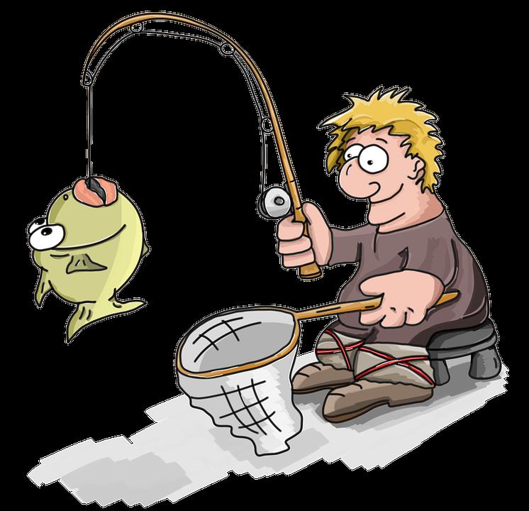 Fisherman, Caught, Fish, Fishing, Man, Catch, Lucky