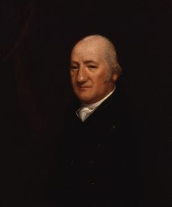 Portrait of Henry James Pye.