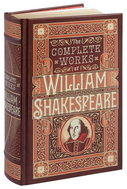 The Complete Works of William Shakespeare (Barnes & Noble Collectible  Editions) by William Shakespeare, Hardcover | Barnes & Noble®