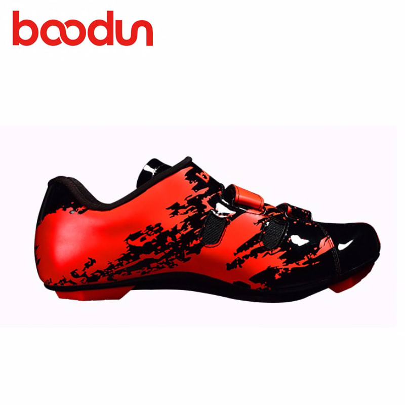 BOODUN Cycling Shoes Road sapatilha ciclismo Outdoor Men sneakers Self-locking Bicycle Bike Wear-resistant Sapatos de ciclismo