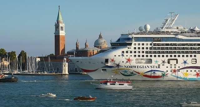 Paquebot à Venise