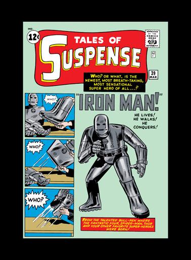 Origins: Iron Man Tales of Suspense #39 — Parker Jordan Fine Art, Inc.