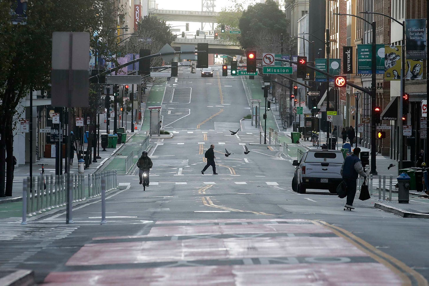 Streets empty as San Franciso ordered to shelter in place - CNN Video