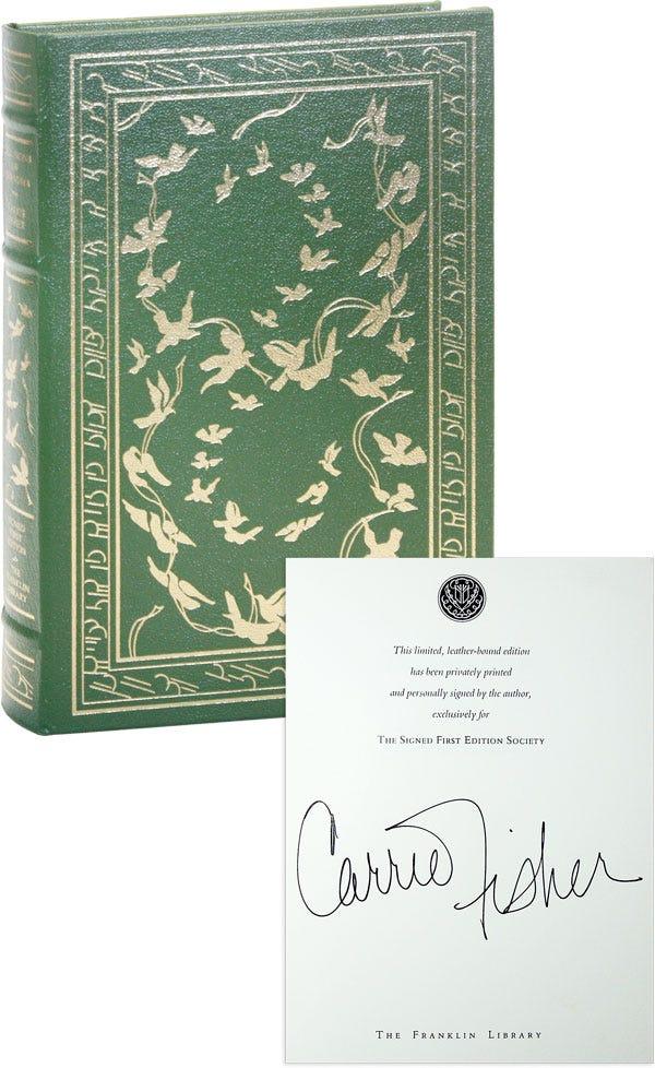 Carrie Fisher-cahills Da Vovó - 1994-Primeira edição-Franklin Library  Assinado Ltd-Fine   eBay