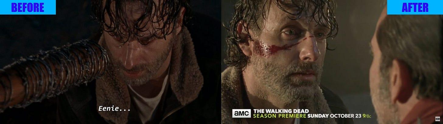 NYCC 2016: The Walking Dead Season 7 Negan Outcome Trailer