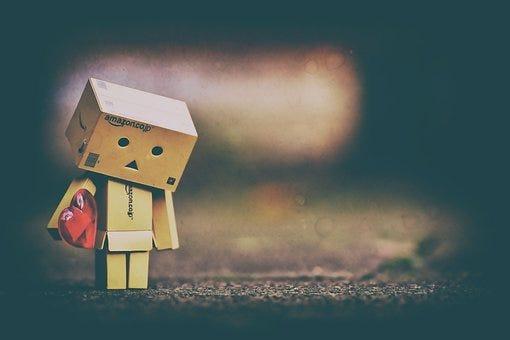 Sad, Longing, Love, Danbo, Danboard