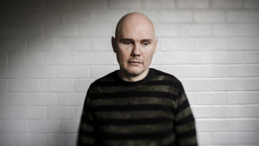 Billy Corgan says he abandoned a Smashing Pumpkins album he was working on several years ago.