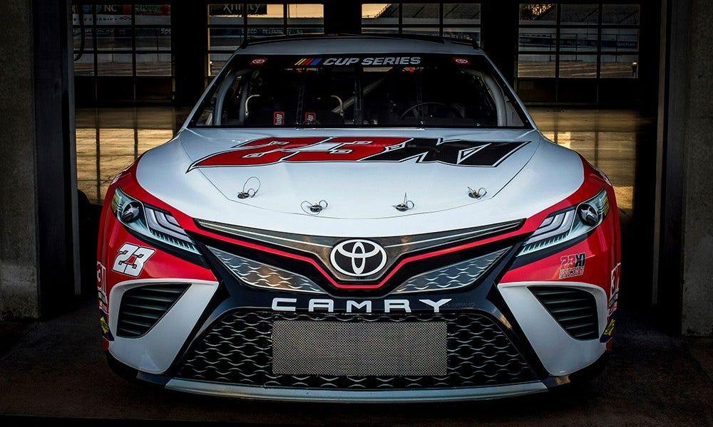 NASCAR: See the paint scheme for Michael Jordan's new No. 23 car