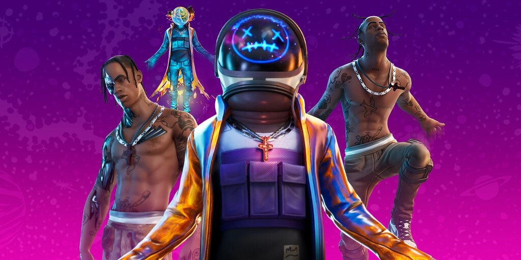 Fortnite to stream live Travis Scott concert, in-game. Here are ...
