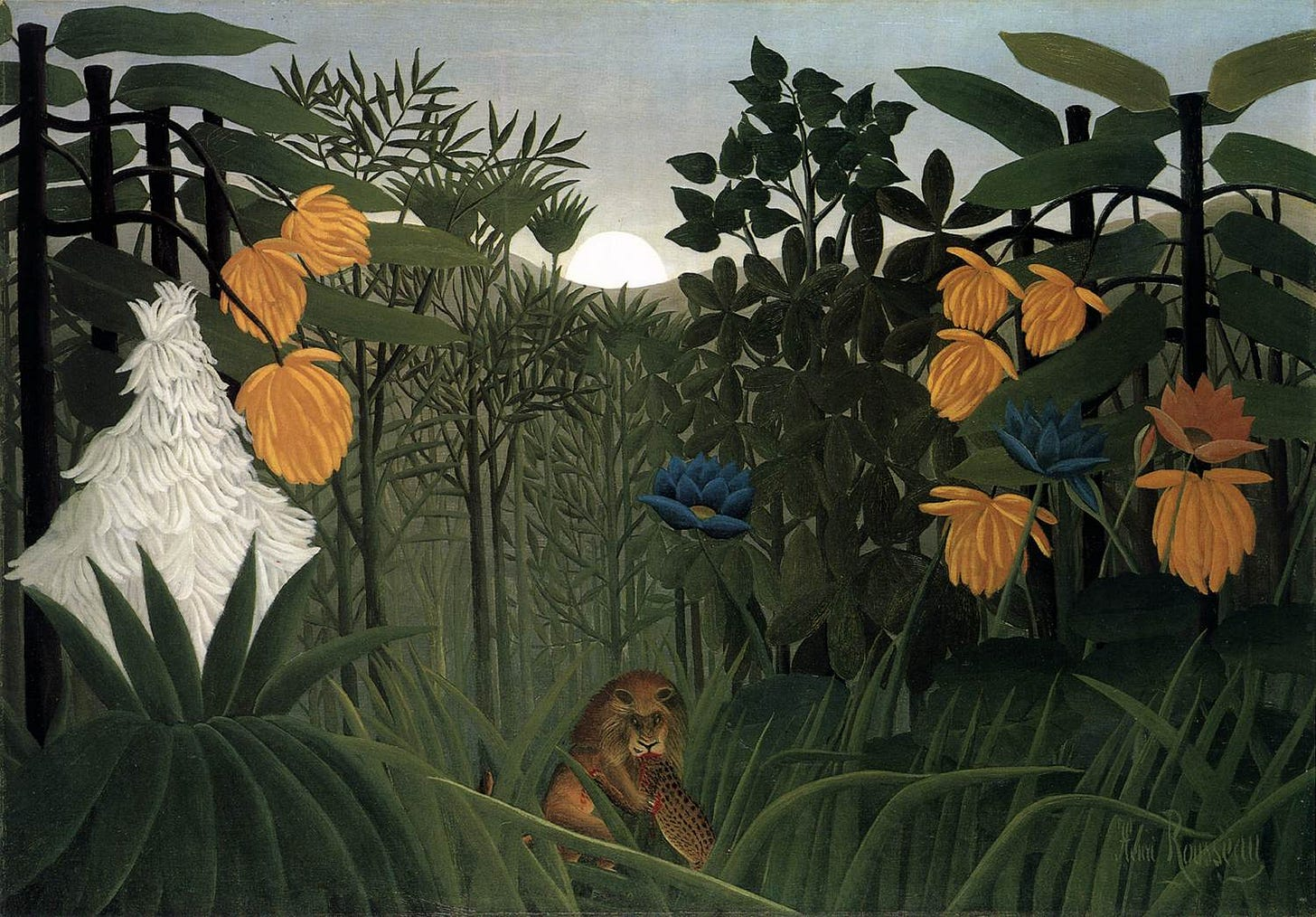 File:Henri Rousseau - The Repast of the Lion.jpg - Wikimedia Commons