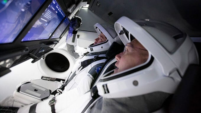 SpaceX astronaut launch marks a first for commercial spaceflight ...