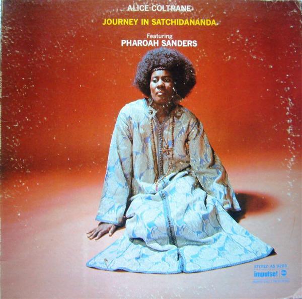 Alice Coltrane Featuring Pharoah Sanders – Journey In Satchidananda (1971,  Gatefold, Vinyl) - Discogs