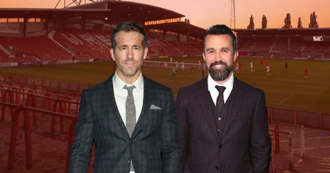 Ryan Reynolds and Rob McElhenney in talks to purchase Wrexham AFC | Metro  News