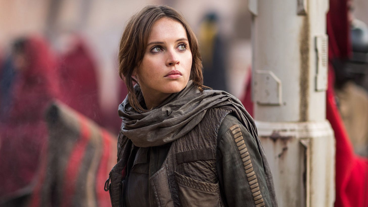 Rogue One: Una historia de Star Wars', con Felicity Jones