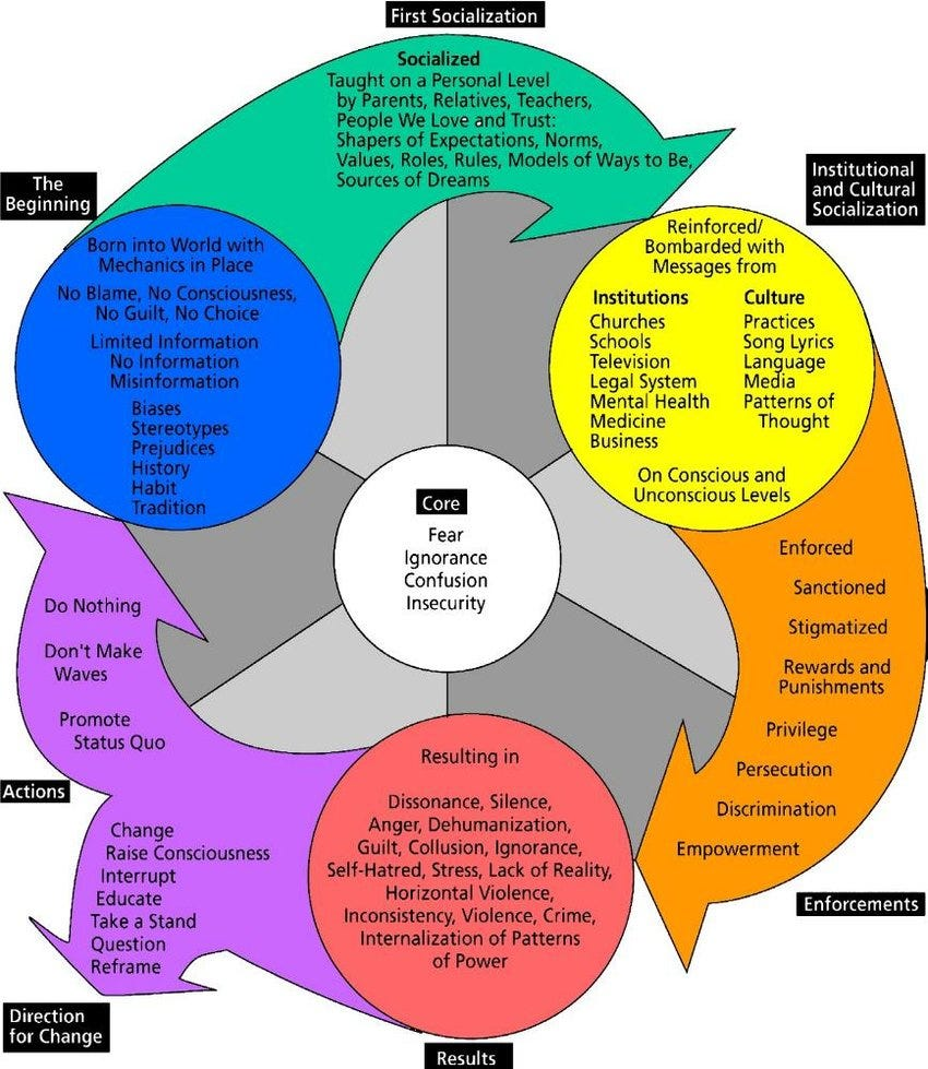 Harro's (1997) Cycle of Socialization