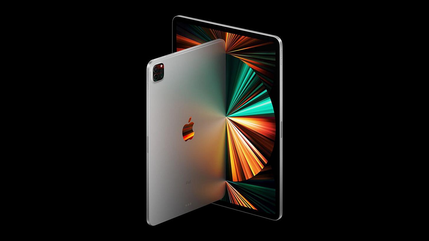 iPad Pro 2021 press image
