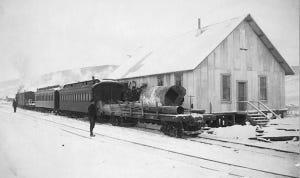T.V.R.R. at Chatanika Station