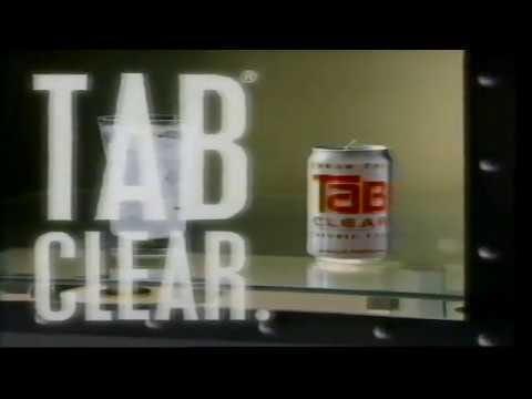 1993 Tab Clear TV Ad - YouTube