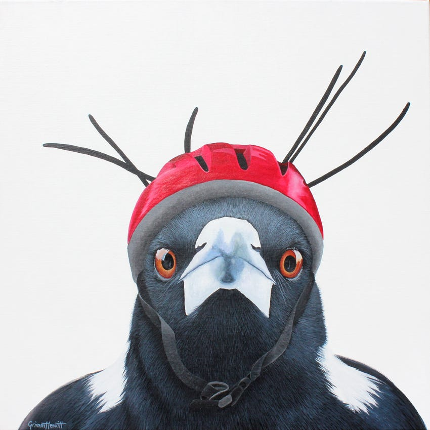 Nicole Grimm-Hewitt - Magpie Artist Of The Month - The Magpie Whisperer