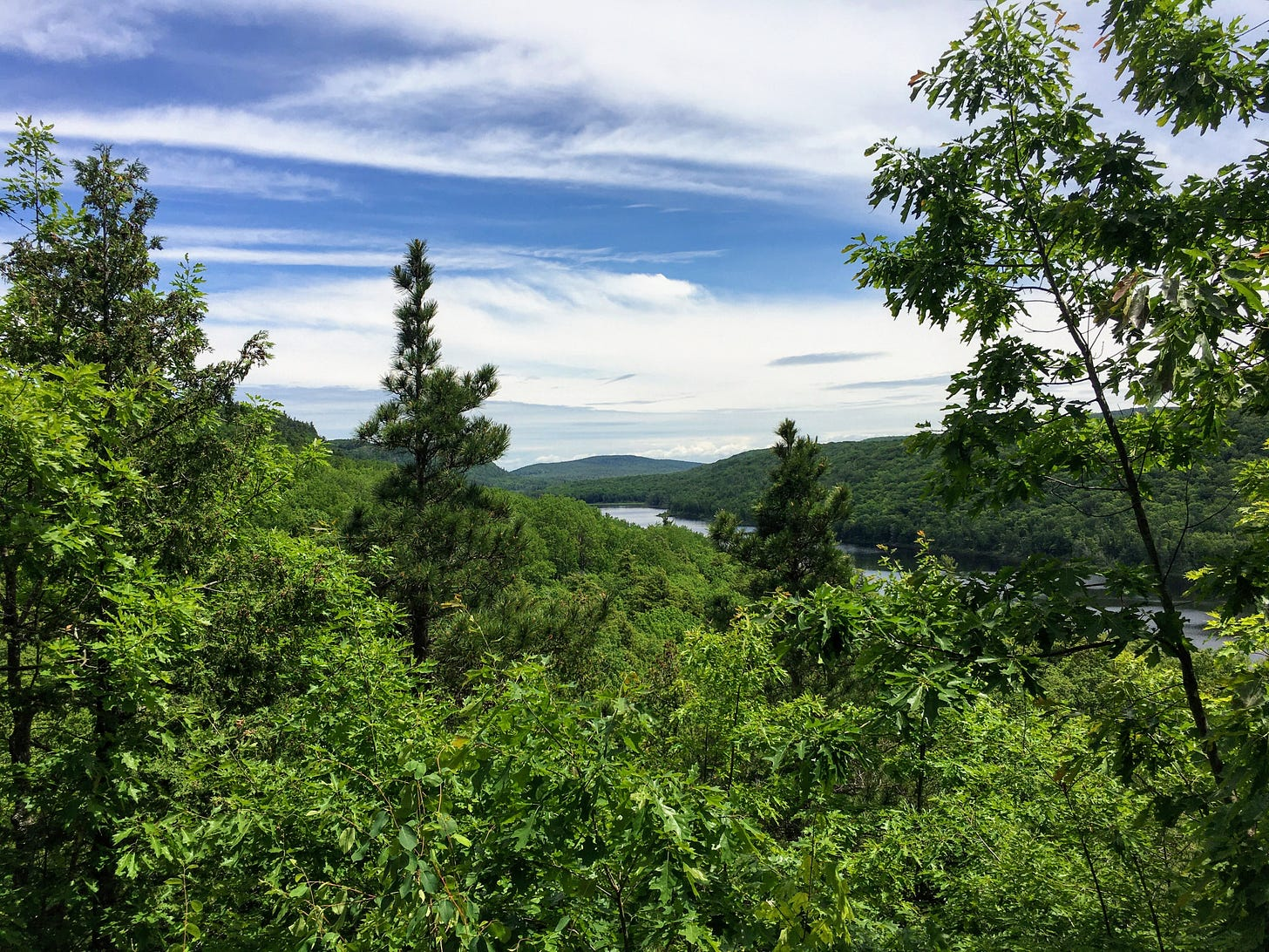 Photo of Michigan's Porcupine Mountains.