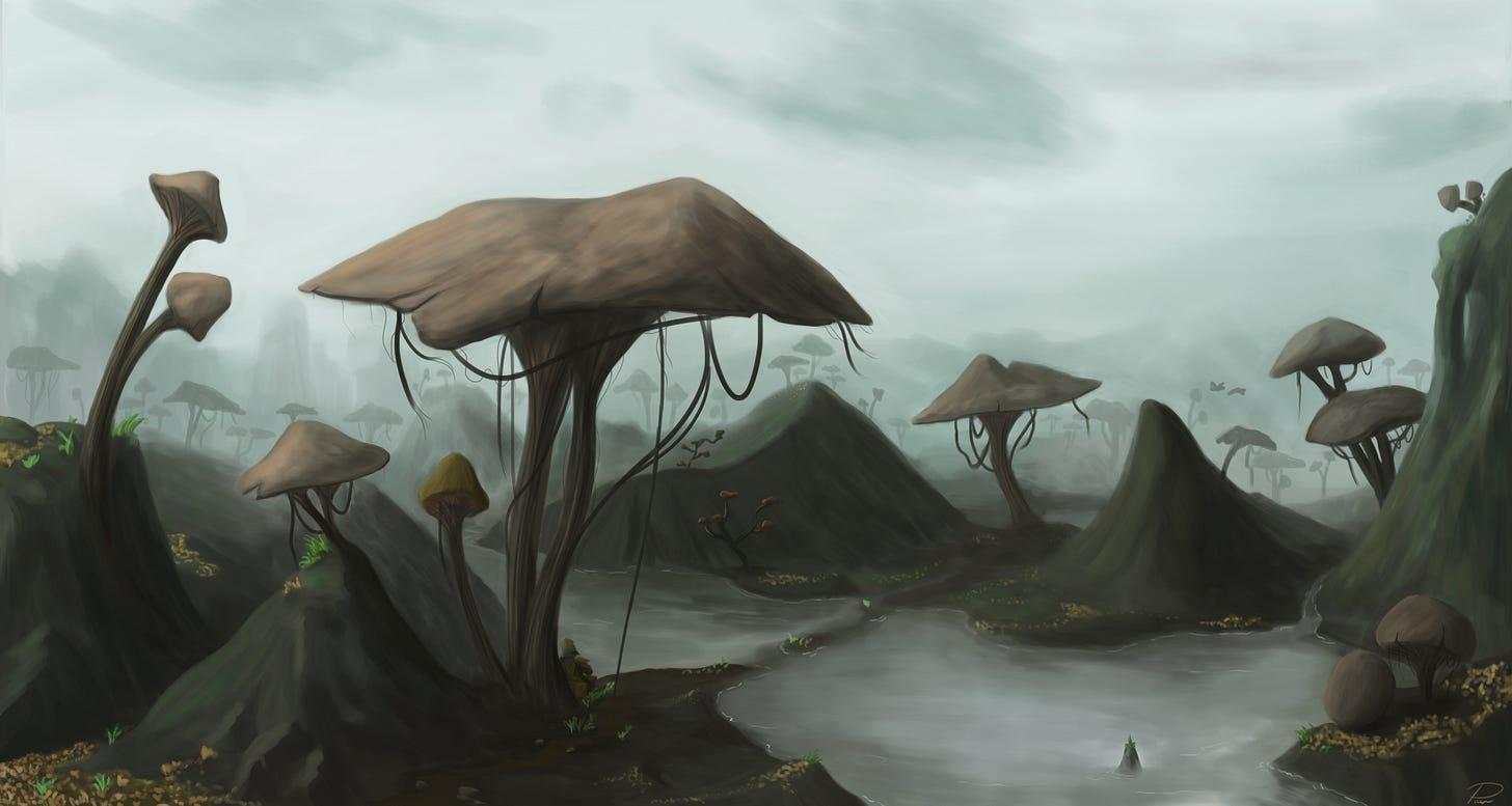 Mushrooms by laspinter on DeviantArt