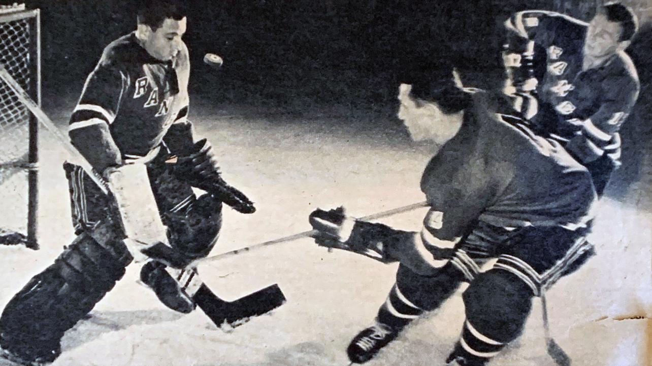Rangers practice goalie Nocks was famed TV director