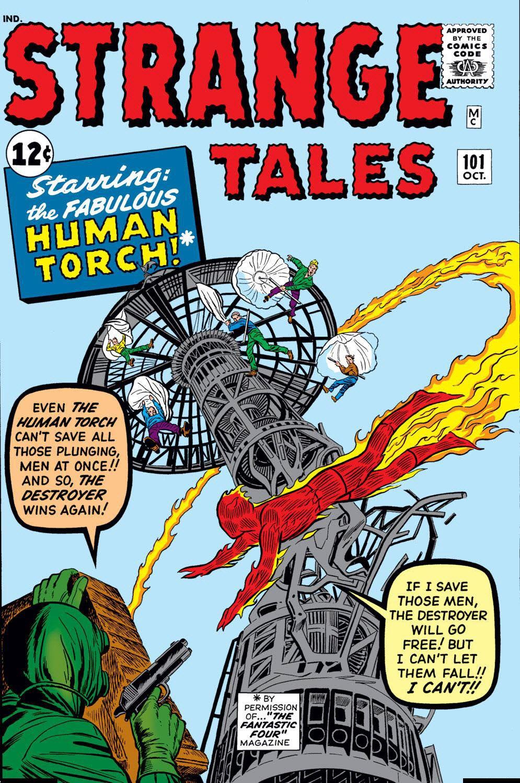 Strange Tales Vol 1 101 | Marvel Database | Fandom