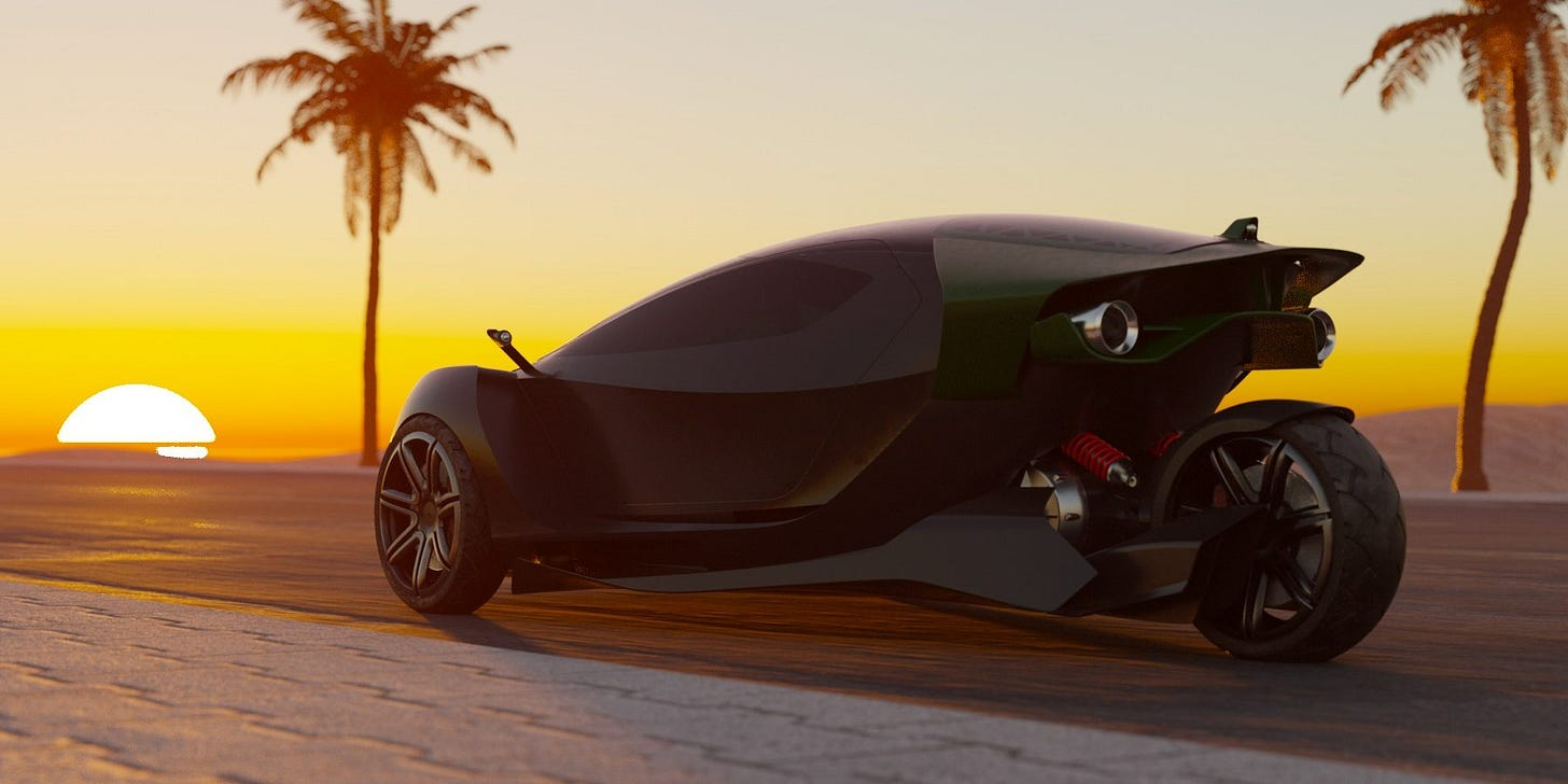 Daymak Spiritus unveiled as 'world's fastest' 3-wheeled electric car